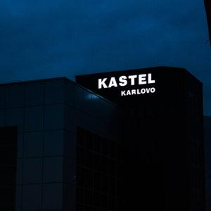 Kastel Karlovo led illuminated channel letters