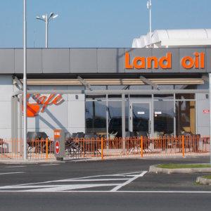 Land Oil sign