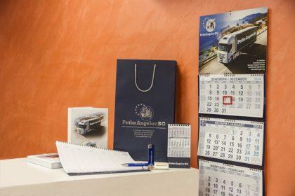 Печатни рекламни материали за Петко Ангелов БГ