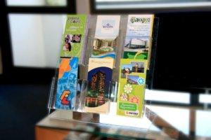 Плексигласова стойка за брошури, Медия Дизайн
