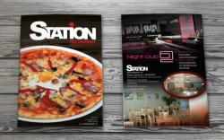 Дизайн и изработка на меню Station, Медия Дизайн
