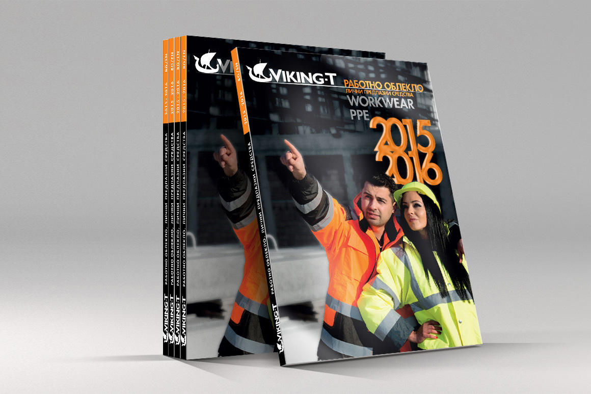 Print Catalog 2015 VikingT, Media Design