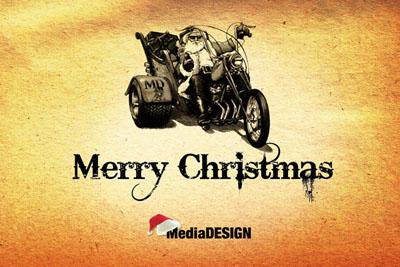 картичка Медия Дизайн 2009г.