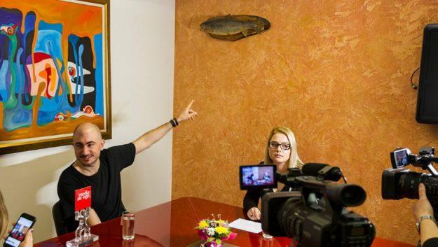 Видео интервю с Manuel De La Mare, MediaTV News
