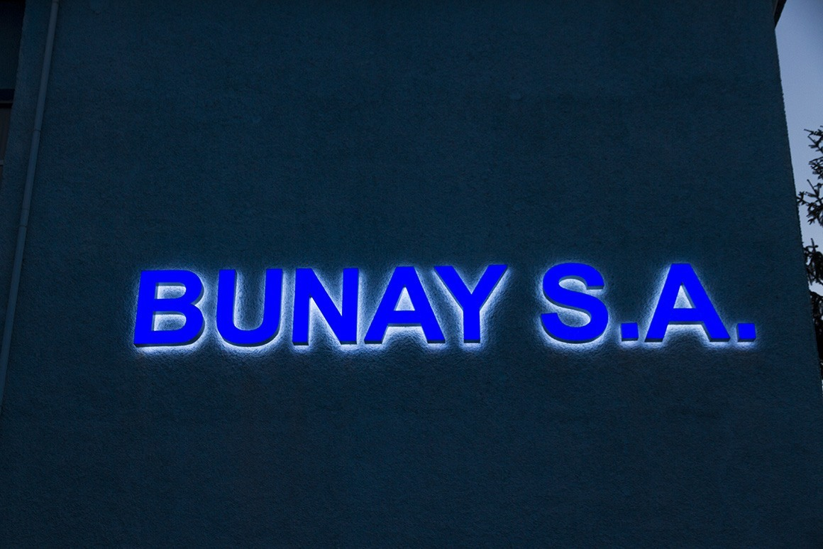 Channel letters - Bunday S.A