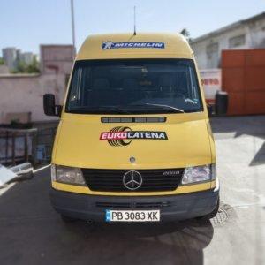 Branding Eurocatena Bus wrapping