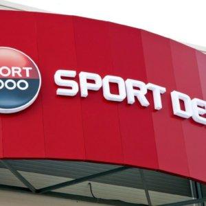 Sport Depot - светещи букви със светодиоди за магазина в Пловдив