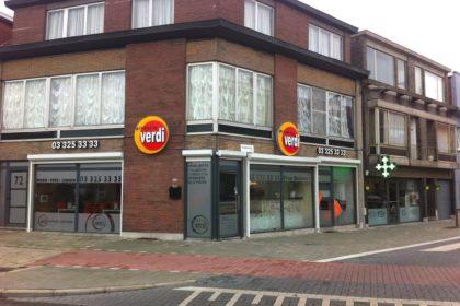 Ефектни светеща реклама за Пицария Верди - Белгия