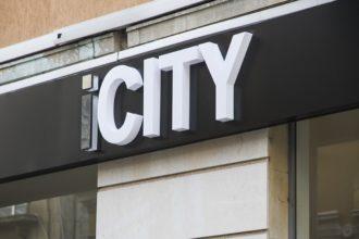 Светещи обемни букви от плексиглас icity в София