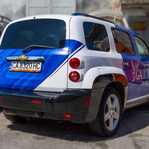 Car wrap Gauloises Sixt