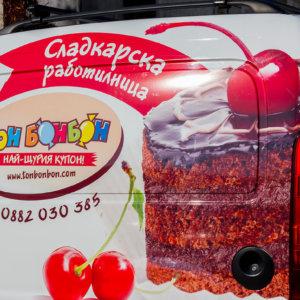 Vehicle wrap Ton Bonbon