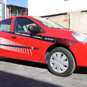 Car wrapping Beninca