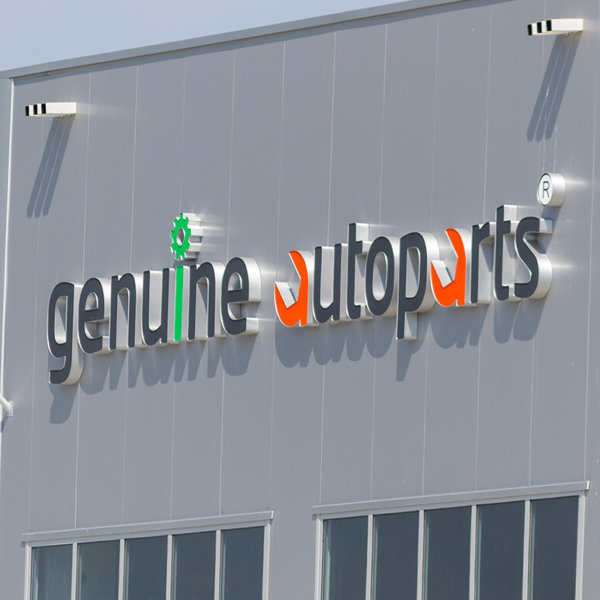 Genuine Autoparts Channel letters