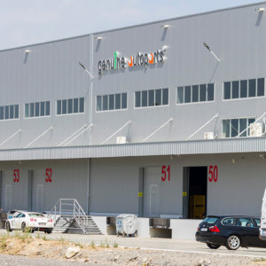 Genuine Autoparts warehouse channel letters