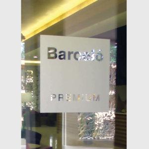Barcelo window sign