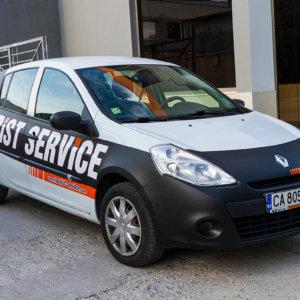 Car wrap for Tourist Service