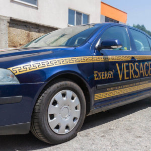 Energy Drink Versace car wrapping