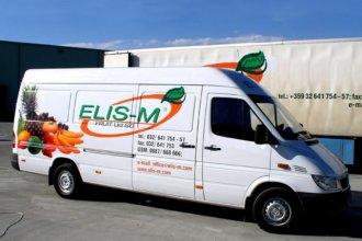 Брандиране на бус и камион с фолио, Елис М Фрут