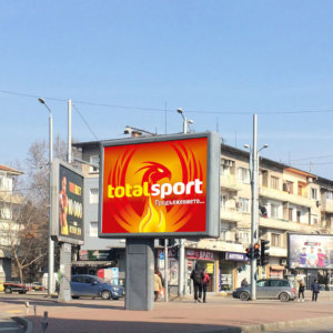 TotalSport design for billboard