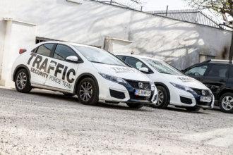 Traffic SOT - Брандиране на автомобили с черно светлоотразително фолио