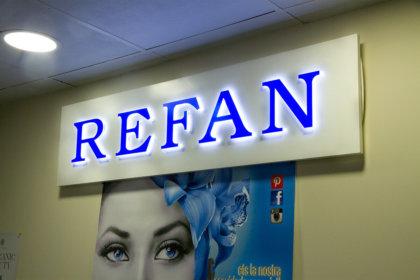 Светеща табела Refan Испания