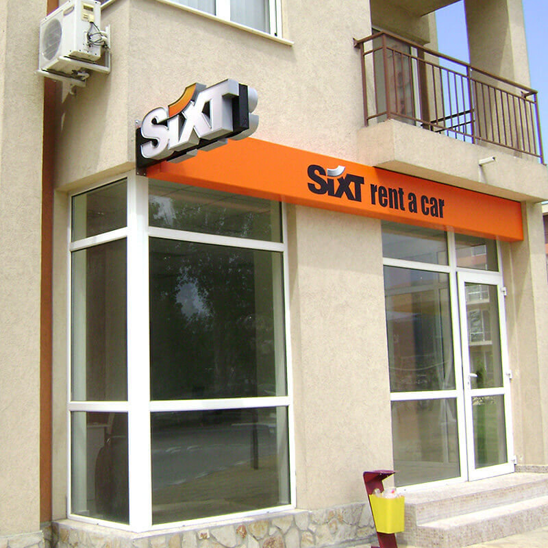 Office Sixt signage