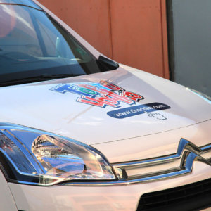 Berlingo car wrap Chochko cakes