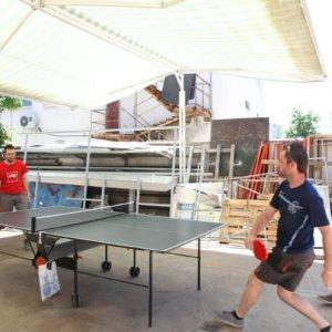 Медия Дизайн - игра на тенис на маса