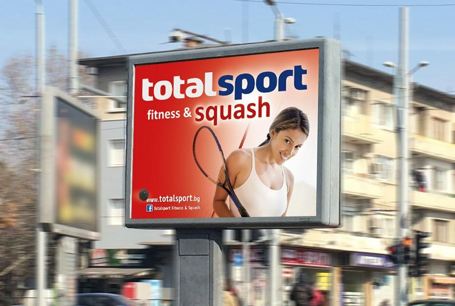 Референция от Тотал Спорт фитнес и скуош за Медия Дизайн