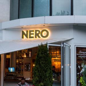 Обемни букви от месинг със задно осветяване - Nero в София