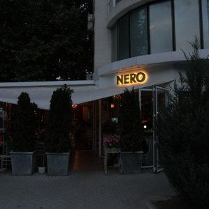 Светещи обемни букви от месинг, Ресторант Golden Nero