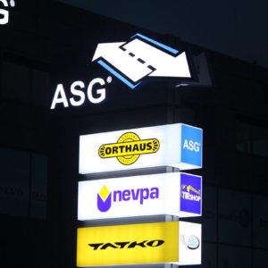 Illumination totem ASG, Plovdiv