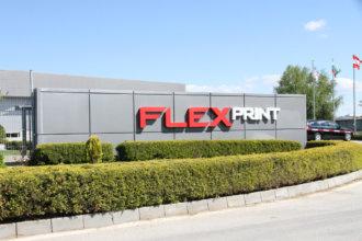 Тотем FlexPrint Пловдив от Медия Дизайн
