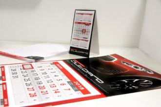 Auto pro рекламни материали - календари 2018 и бележници