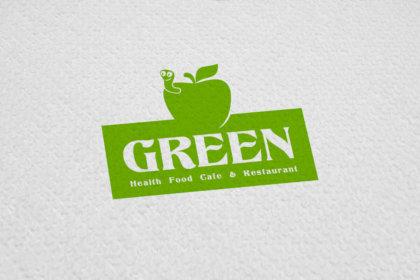 Кафе ресторант Green дизайн на лого