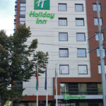 Hotel Holiday Inn in Plovdiv - illuminated adverts from Media Design