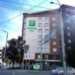 Holiday Inn Plovdiv with advertising letters from Media Design