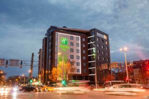 Холидей Ин Пловдив светещи обемни букви, Медия Дизайн