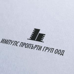 Лого на Импулс Пропърти от Медия Дизайн