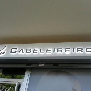 Реклама за фризьорски салон в Португалия