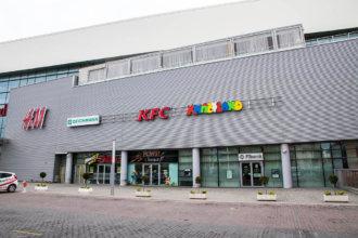 Обемни букви от алуминий с винил за Хиполенд МОЛ Пловдив