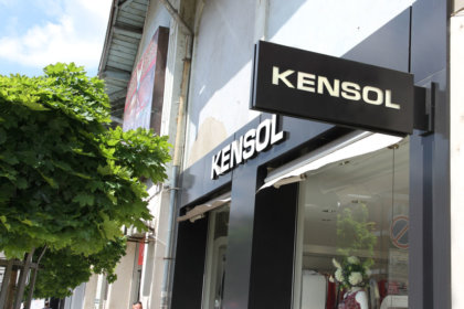 Kensol с ефектни светещи обемни букви Велико Търново