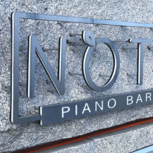 Channel letters for Pino Bar Noti in Sveti Vlas