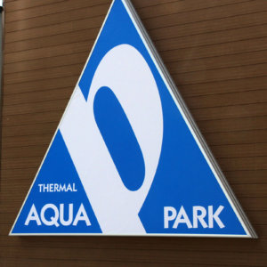 Thermal complex Persenk - sign with vinyl and aluminum profiles systems