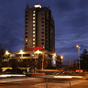 Signmaking company branded Hotel SPS in Plovdiv