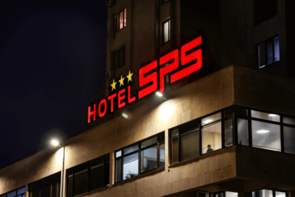 Hotel SPS with a new illumintaed logo