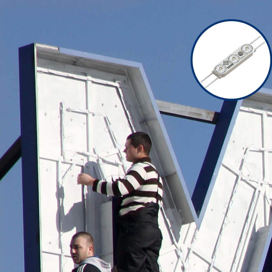 SloanLED Prism illumination modules for Metro - Plovdiv Sankt Peterburg