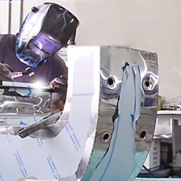 Inox channel letters - manufacturing process