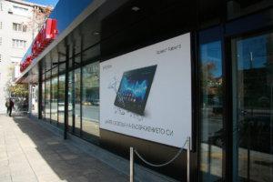 Винилна реклама и табела за Dekom - Брандиране на обекти