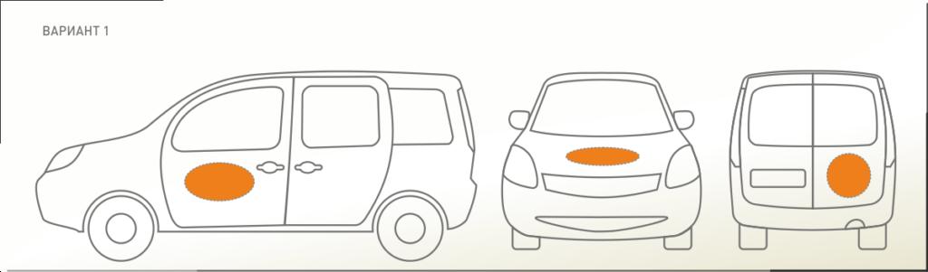 Брандиране на автомобил, облепяне със самозалепващо фолио - рекламни графики: видове